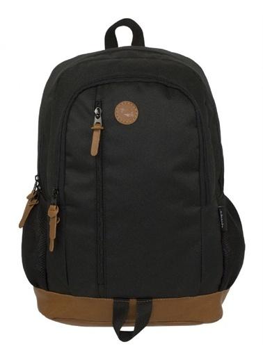 Ümit Çanta Cennec Üç Bölmeli Siyah Sırt Çantası (Günlük, Okul ve Seyahat) Renkli